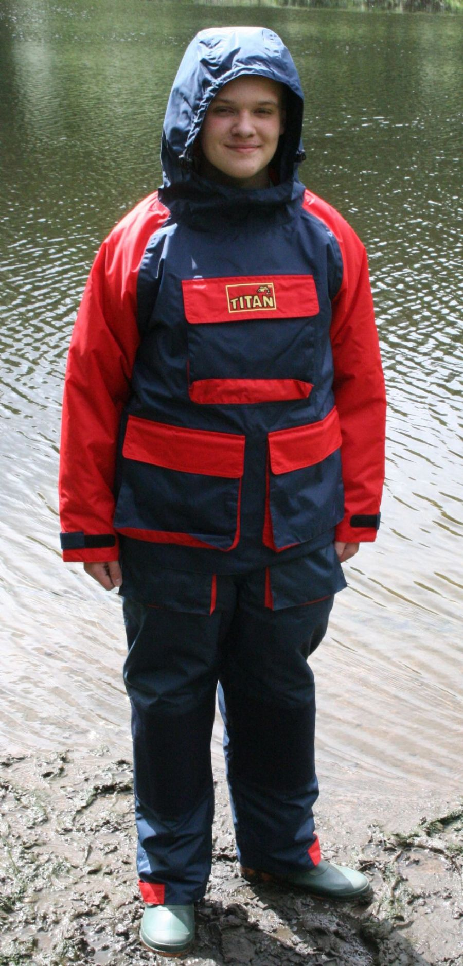 BRAND NEW TITAN ™ EXEAT  25  Waterproof Breathable Fishing Smock & Salopettes BUNDLE